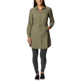 Columbia Silver Ridge Novelty Dress Women stone green